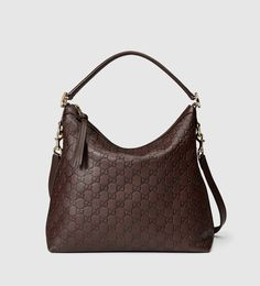 miss GG guccissima leather hobo