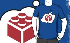 2x2 Brick T-shirt by Bubble-Tees.com by Bubble-Tees