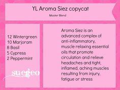 YL Aroma Siez copycat essential oil blend