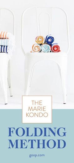 Organization tips to get your living room in order. We've laid out the basics of the Marie Kondo approach along with an illustrated guide to her folding technique. Happy cleaning!