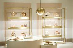 Chloé Boutique at Saint Honoré, Paris store design