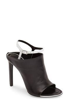 Balenciaga 'Glove' Bicolor Leather Open Toe Sandal (Women) available at #Nordstrom
