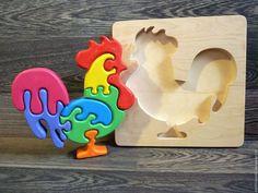 Развивающие игрушки ручной работы. Заказать Деревянная пазл-игрушка