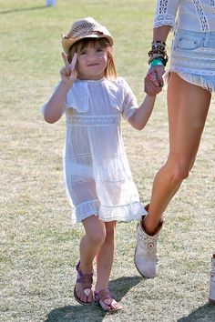 Anja Mazur attends Coachella Music Festival 2013