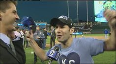 Paul Rudd is a die-hard Kansas City Royals fan, he just saw his team advance to the World Series and he's ready to party.