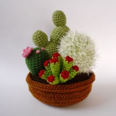 Like , this collection was also made from June Gilbank's cactus and succulent patterns. They are available in my Etsy shop.