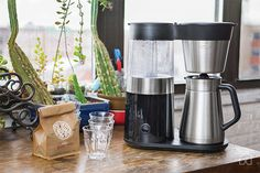 The Best Coffee Maker | We think the OXO On 9-Cup Coffee Maker is the best. Expect great-tasting coffee from a machine that's easy to use and clean. It brews a 1-liter pot in under 7 minutes.