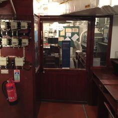 Inside the HMS Belfast...