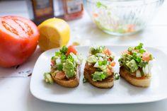 Delicious Sandwich Recipe with Tomato Avocado Green Onion and Garlic #sandwichrecipe