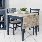 Stunning FLORENCE Console Table,Quality kitchen hall console table,Colour choice | eBay Blue Kitchen Tables, Blue Dining Tables, Painted Kitchen Tables, Dining Room Blue, Diy Dining Table, Small Square Dining Table, Square Kitchen Tables, Porches, Refurbished Table