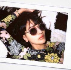 ZARA MARTIN in HOOK LDN #hookldn #shareyourvision #zaramartin #model #clear #parklife #glasses #sunglasses