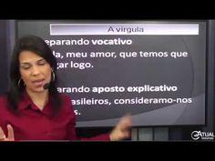 Concurso do INSS 2015 - Língua Portuguesa - Pontuação a Vírgula - Profª ...