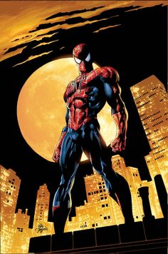 "Amazing Spiderman cover lineart: Mike Deodato colors : Marvel Comics © 2006 ""So then I took my turn Oh all the things I've done And it wa. SPIDERMAN: The Other 4 Marvel Comics, Marvel 2099, Hero Marvel, Bd Comics, Marvel Art, Captain Marvel, Ms Marvel, Amazing Spiderman, Spiderman Kunst"