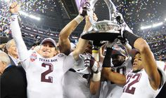 Aggies win the 2013 Cotton Bowl (41-13) against OU ~ WHOOP!!