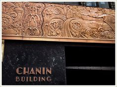 art deco ocean in NYC/ 42nd street: the chanin building circa 1929