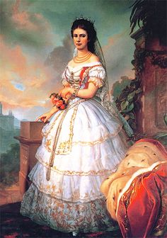 Elisabetta Amalia Eugenia di Wittelsbach Later Empress Elisabeth of Austria and Queen of Hungary