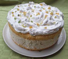 Tortaimádó: Diplomata torta Cakes And More, Cheesecakes, Vanilla Cake, Fondant, Tart, Food Porn, Pudding, Sweets, Snacks