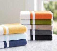 Tinsley Organic Bath Towels #potterybarn