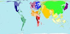 Men Smoking - Worldmapper: The world as you've never seen it before