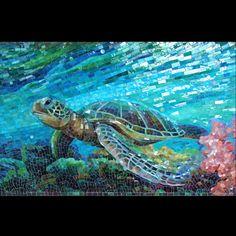 Mia Tavonatti Mosaics by svelata, via Flick- incredible mosaic art! Pebble Mosaic, Mosaic Wall, Mosaic Glass, Mosaic Tiles, Mosaic Mirrors, Mosaic Crafts, Mosaic Projects, Mosaic Designs, Mosaic Patterns