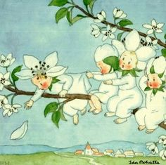 Ida Bohatta - Oh, I adore flowers that are drawns as children. Anthropomorphic sounds too cold.
