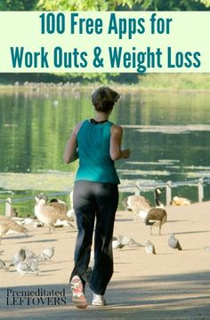 100 free apps for wight loss, exercise, and healthy living