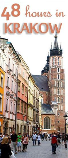 Here's what you can do with 2 precious days in Krakow, Poland.