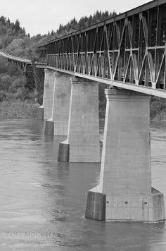 Old CP Train Bridge in Nipawin, SK