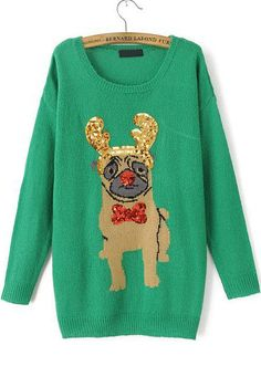 SHUT THE FRONT DOOR. THIS IS A PUG CHRISTMAS SWEATER. WHO DOESN'T NEED THIS?!