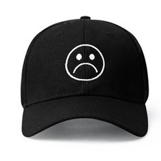 53162b85a18 Sad Boys Adjustable Hat crying face Baseball cap Hip hop Headwear Black  Harajuku. Cheap Baseball CapsBaseball HatsCrying FaceEmbroidered ...