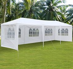 Yaheetech 10'x30' Canopy Party Wedding Tent Heavy Duty Gazebo Pavilion Cater Event Outdoor >> CHECK OUT ADDITIONAL INFO @: http://www.best-outdoorgear.com/yaheetech-10x30-canopy-party-wedding-tent-heavy-duty-gazebo-pavilion-cater-event-outdoor/