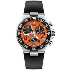 Victorinox Swiss Army Men's Summit XLT Chrono Orange Dial Watch