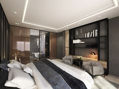 WARSAW GREY MODERN 5, project by EXITDESIGN