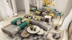 When you are lucky enough to be young, in love, and have the means to find and decorate a luxury apartment there is not much more that you can ask from life. Th
