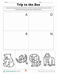 Land Animal Worksheet Pack | Animal worksheets, English worksheets for kids, Missing letter worksheets. May 14, 2019 - The Preschool and Kindergarten Animal ... Animal Worksheets, Animal Activities, Kindergarten Worksheets, Preschool Activities, Missing Letter Worksheets, English Worksheets For Kids, Special Education, Teacher Resources, Homeschool