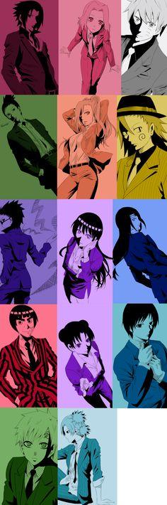 Naruto Mafia by Narusailor on DeviantArt