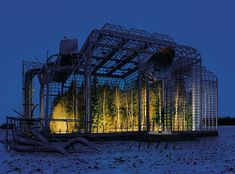 10 Works of Art Masquerading as Architecture--Museum of Nature photo series