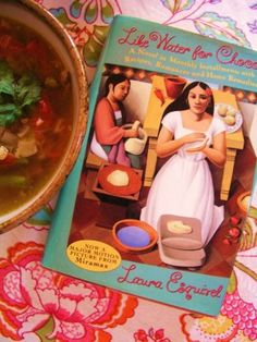 Like Water for Chocolates by Laura Esquivel.  <3 <3 <3 <3 <3 This book! The movie was fabulous, as well!!