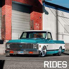 Very nice '72 Chevy pickup...