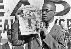 """Malcolm X  """"Our Freedom Can't Wait"""" - Malcolm X delivers a speech in Detroit, Michigan at the Northern Negro Grass Roots Leadership Conference, 1963"""