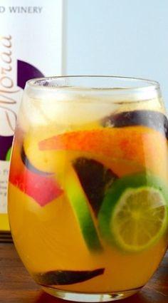 Summery Passion Fruit Sangria Recipe - JoyOfKosher.com