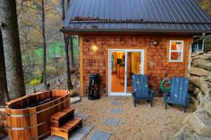 5 One-of-a-Kind Cabins, Cottages, and Yurts Near Asheville. Rootsrated website…