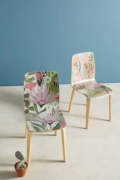 Lulie Wallace Purple Garden Tamsin Chair