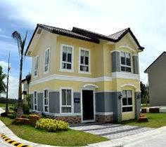 The Palms Lakeshore Pampanga Leighton House and Lot For Sale in Pampanga. Leighton House is the current best seller among single attached houses at The Palms Low Cost Housing, What House, 2 Storey House, Lakeside Living, Lots For Sale, Entrance Gates, Dream Home Design, House Design, Affordable Housing