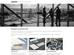 executive-free wordpress themes