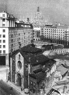 La Chiesa di San Giovanni in Conca viene demolita per far crescere la Milano del futuro.
