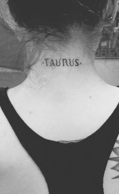 tatuajes del signo tauro para mujeres