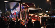 Do Plzně dorazil vánoční kamion Coca Coly