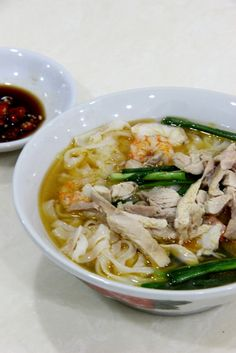 frozen wings: Chinese ipoh Kai See Hor Fun