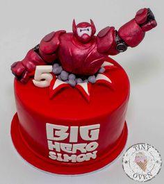Big Hero 6 Themed cake by www.tinyoven.com.au #tinyoven